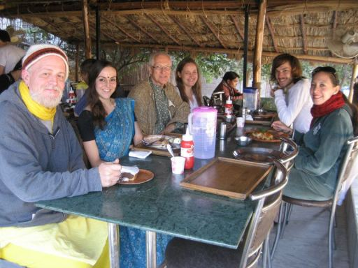 Erin with Vaiyasaki Das and Everyone (1-26-13)