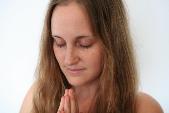 Erin Beloved Cover Hands in Prayer